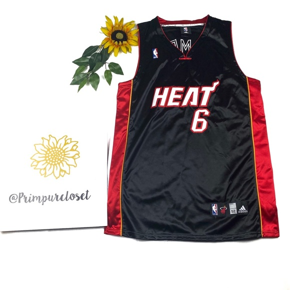 NEW ADIDAS MIAMI Heat Boys Reversible Basketball Vest top